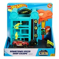 Hot Wheels Downtown Speed Shop Escape