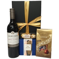 Red Wine and Chocolates Gift Box