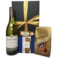 White Wine and Chocolates Gift Box